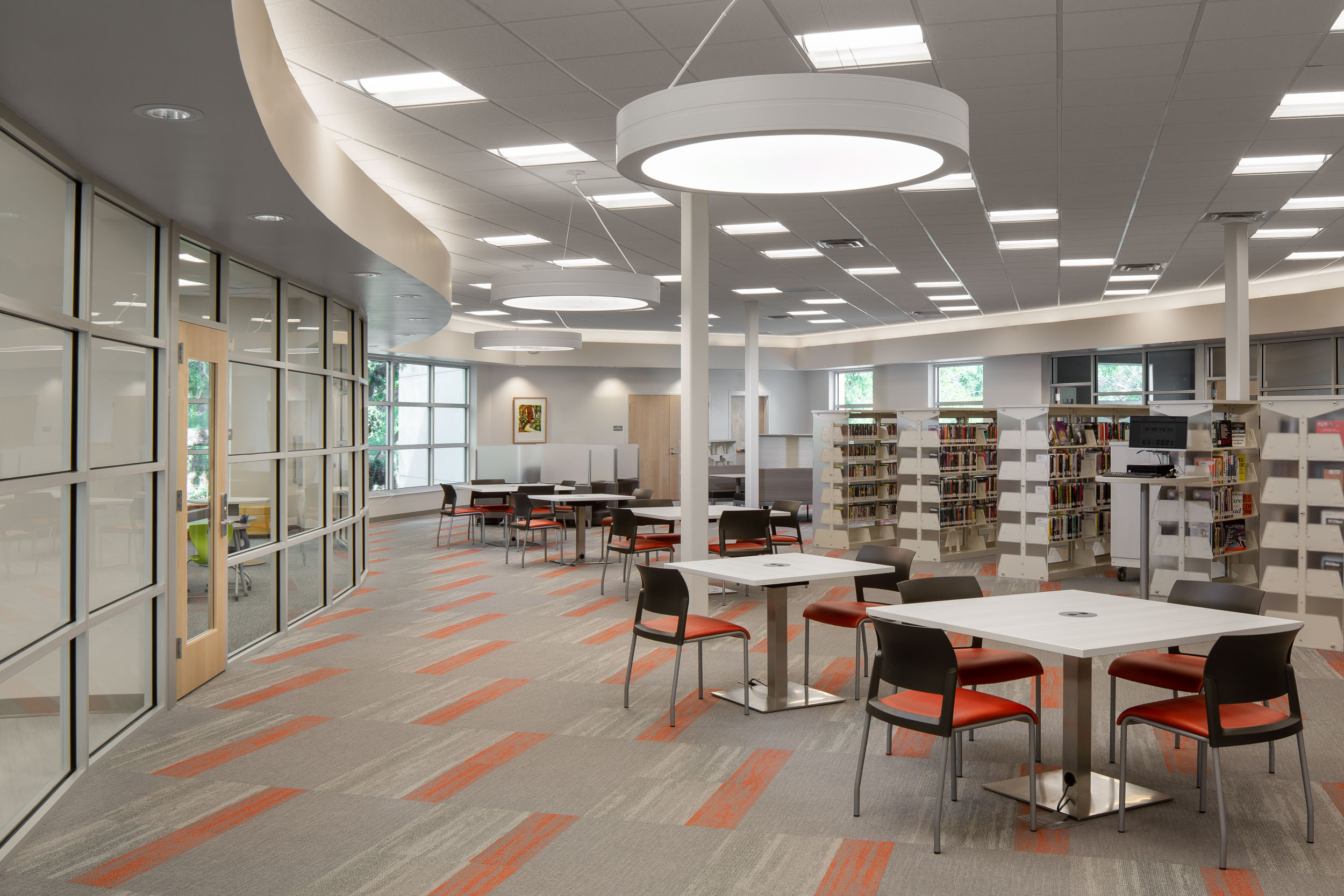 C. Blythe Andrews, Jr. Library - Javier Garcia Architectural Photographer